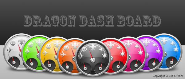 Dragon dAsh Board by Jet-Stream