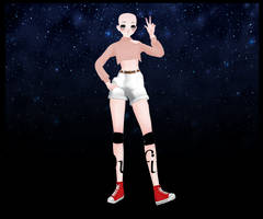 MMD Outfit Base #1 by JazzyPaxYT