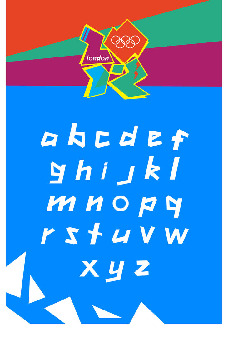 LONDON 2012 Font by MyFox