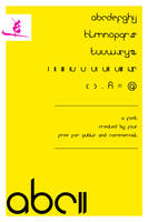 ABC - Font Typeface Version 2