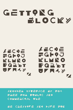 GETTING BLOCKY  - Abstract