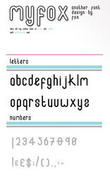 Fox Font by MyFox