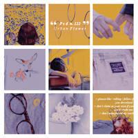 PSD 122 Urban Flower Graphic  by UrbanFlowerGraphic