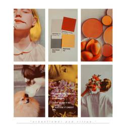 PSD Citrus Urban Flower Graphic  by UrbanFlowerGraphic