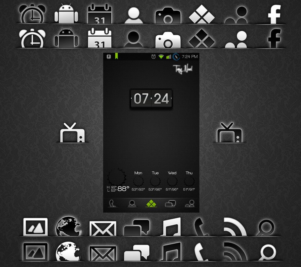Custom Dock Icons by iRide113