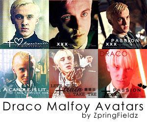 Draco Malfoy Avatars by ZpringFieldz
