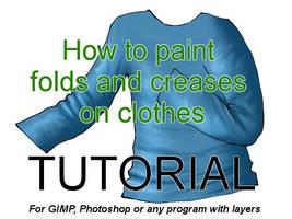 Tutorial: How to paint folds by pralinkova-princezna