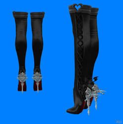 Wearable Dragon Heel Boots With XPS only by HillMaker