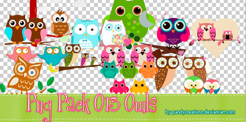 Png Pack O13 Owls
