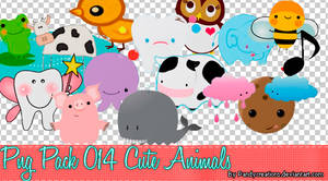 Png Cute animals Pack