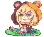 Pixel gif Commission (animated gif)