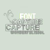 Fonts WIDL - Capture_it by wonderfulisddl