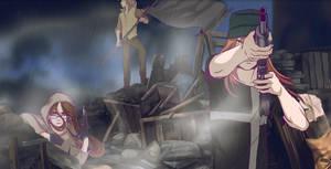 The Barricade - animation by Razurichan