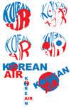Korean Air Logo Roughs2