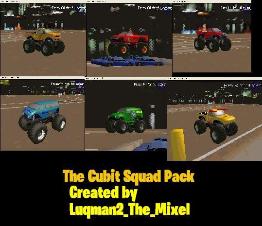 MTM2: The Cubit Squad Pack by Luqmandeviantart2000