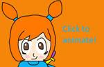 Warioware: Animated Blinking Ana
