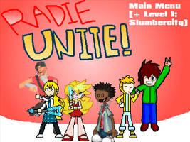 Radie Unite! Main Menu (+ Level 1)