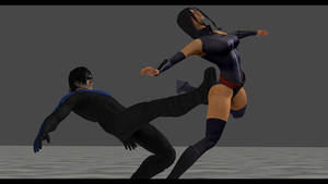 Psylocke vs Nightwing 3