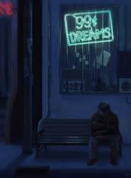 99-cent Dreams by Manatiini