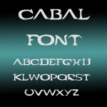 Cabal Font by exxodia