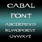 Cabal Font