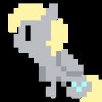 Pixel Derpy Hooves Animation
