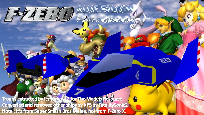 Melee Blue Falcon By FatalitySonic2 Super Smash Bros