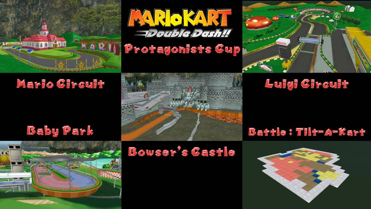 Mario Kart Double Dash !! - Protagonists Cup by