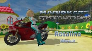 Mario Kart Remake Meshmod Rosalina Bikesuit