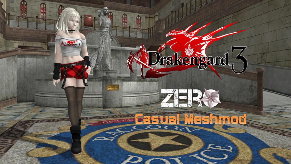 Drakengard 3 red dress 3 4