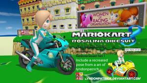 Mario Kart 8 - Rosalina Bikesuit (redownload her!)