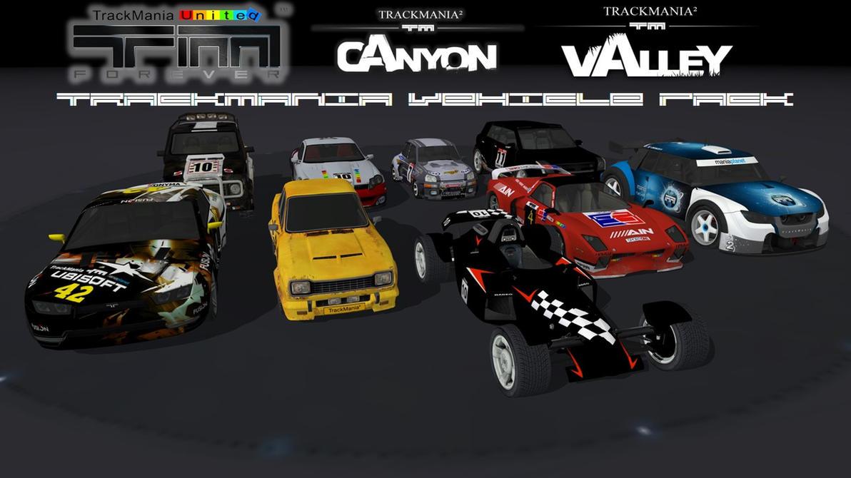 trackmania cars