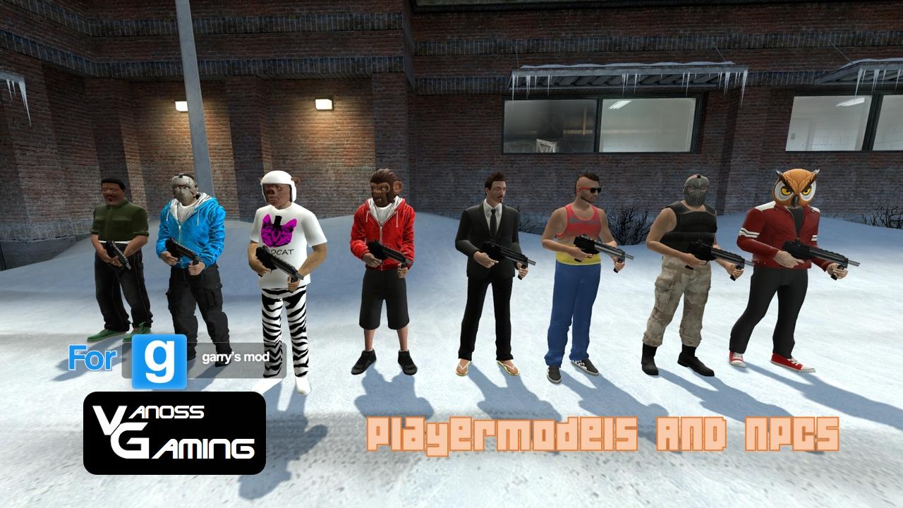 VanossGaming crew Playermodels and NPCs by FatalitySonic2 on DeviantArt