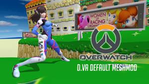Overwatch D.Va Default Meshmod