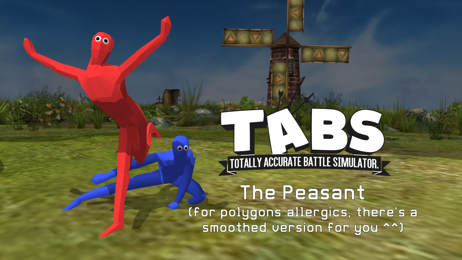 Totally Accurate Battle Simulator - Peasant by