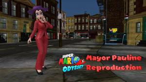 Mayor Pauline Reproduction Meshmod by FatalitySonic2