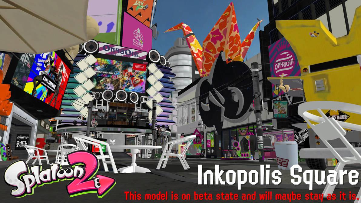 Splatoon 2 - Inkopolis Square (read description!) by FatalitySonic2
