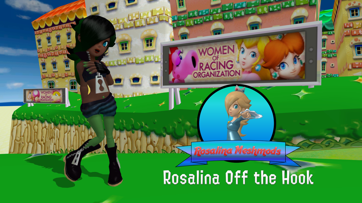Rosalina Off the Hook by FatalitySonic2