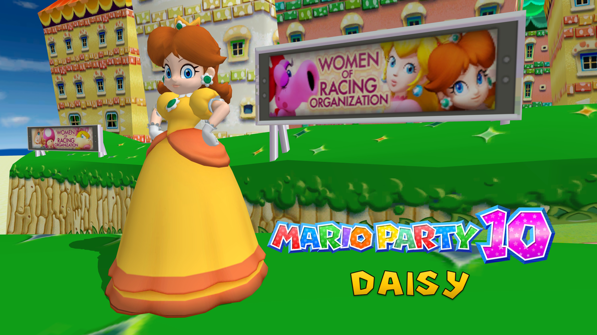 Mario Party 10 Daisy By Fatalitysonic2 On Deviantart