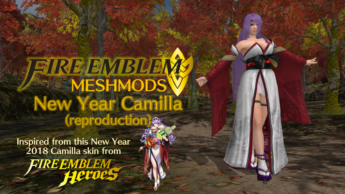 FE Meshmods - New Year Camilla (reproduction) by FatalitySonic2