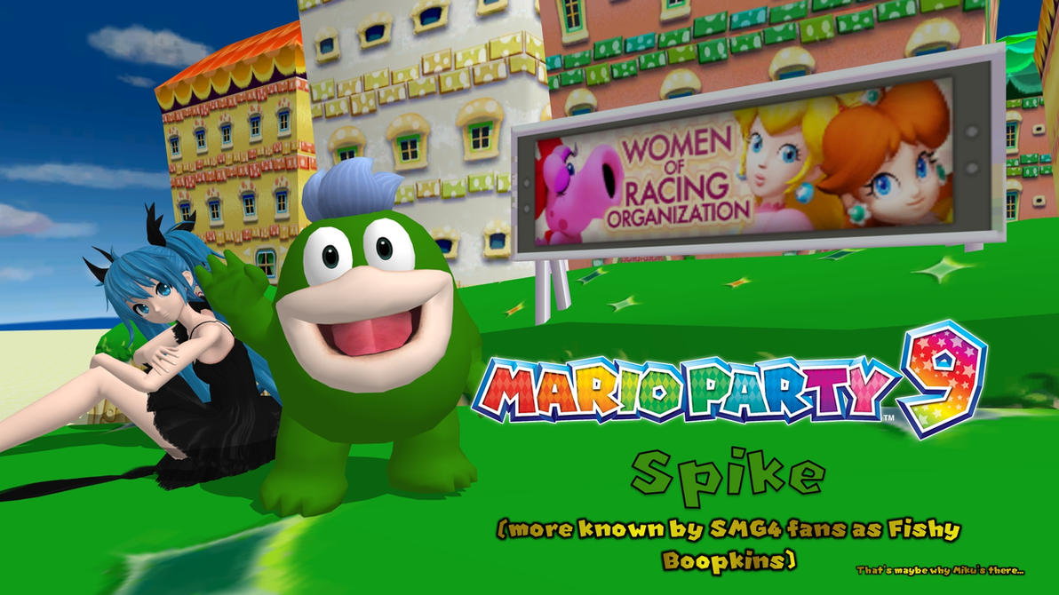 Mario Party 9 - Spike (Fishy Boopkins) by FatalitySonic2
