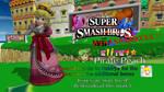 Smash 4 Mods - EliTE9 Pirate Peach (fixed)