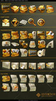 System Force Japan Icon Pack by Homeryulo
