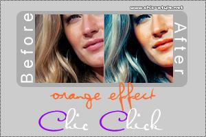 Orange effect by Chic-Chick