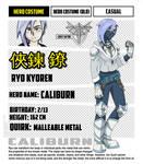 { BNHA OC } Ryo Kyoren