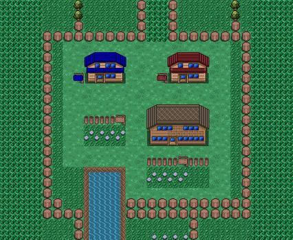 Pokemon Red / Blue: Pallet Town