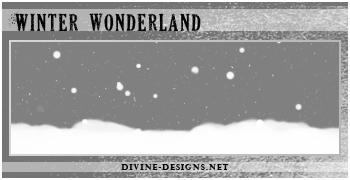Winter Wonderland Brush Set by TehAngelsCry