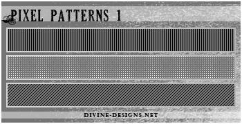 Pixel Patterns 1 by TehAngelsCry