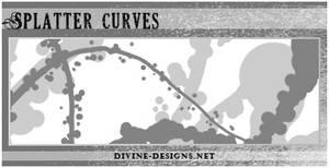 Splatter Curves by TehAngelsCry