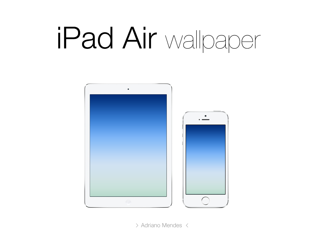 iPad Air Wallpaper by adrianooHD